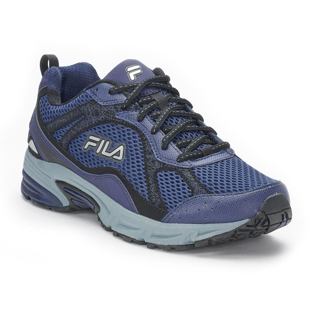 FILA Windshift 15 Men's Running Shoes, Size: 7.5, Dark Blue