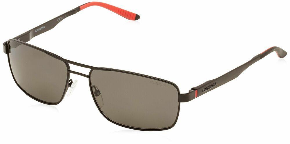 1a3b54808dc49 eBay  Sponsored Carrera 8011S 003 Matte Black 8011S Square Aviator  Sunglasses Polarised Lens Ca
