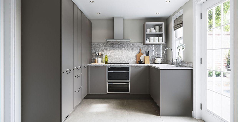 U Shaped Kitchens - Caesarstone | Kitchen layout, Kitchen ...
