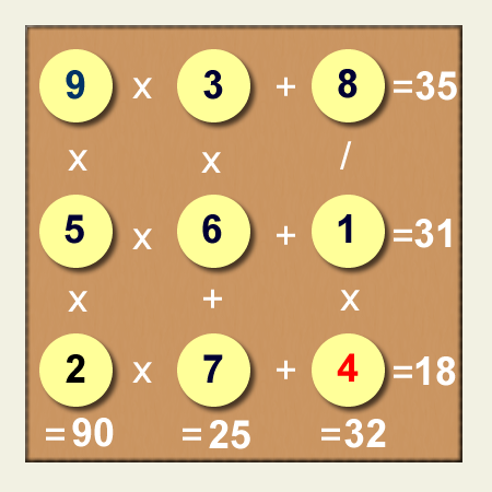 Juego Para Desarroollar La Habilidad De Cálculo Mental Adivinanzas De Matematicas Calculo Mental Rompecabezas Matematicos