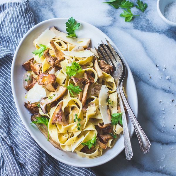 Chickpea Pasta with Mushrooms and Cheese | Community Post: 17 Chickpea Recipes That Aren't Hummus