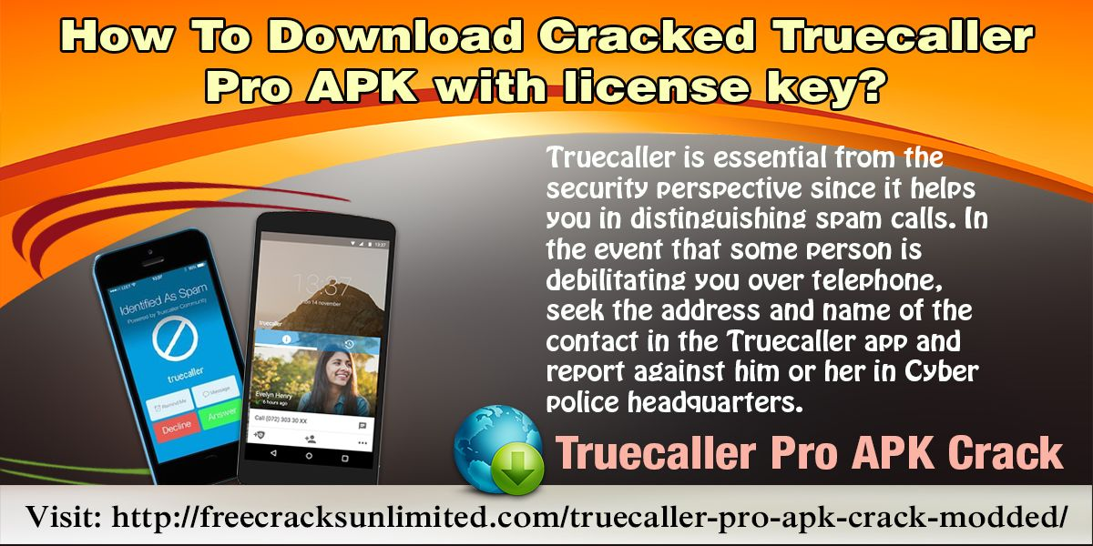 Truecaller is an android cell phone App which lets to know the names