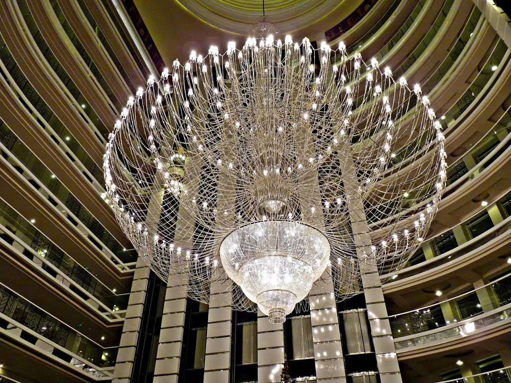 Big Chandelier In The Lobby Delphin Imperial Turkey Large