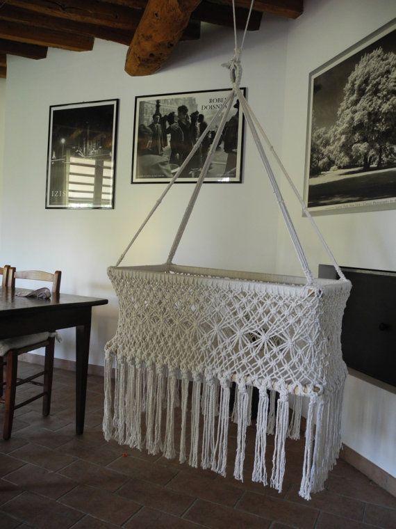 INFANT HAMMOCK Cotton by Amacando on Etsy, €81.00