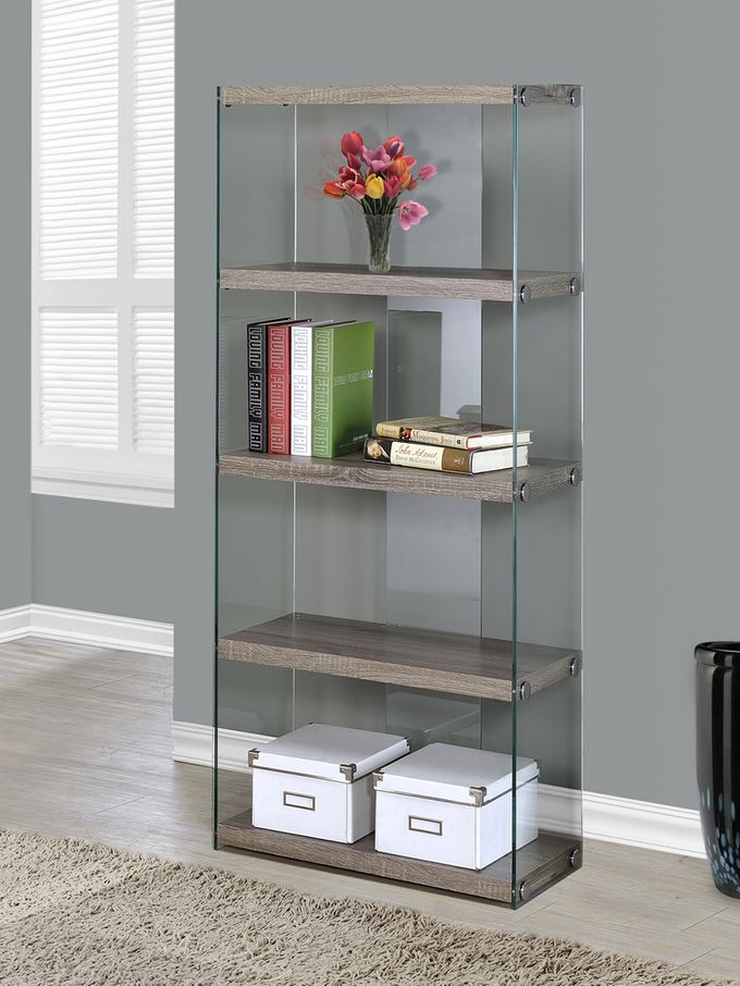 Reclaimed Glass Bookcase
