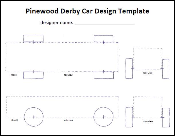 Pics photos pinewood derby car templates pdf 0crd0r68 for Boy scouts pinewood derby templates