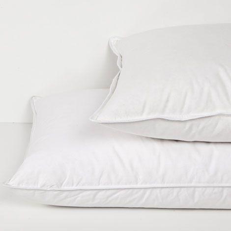relleno de almohada de pluma - promociones   zara home españa