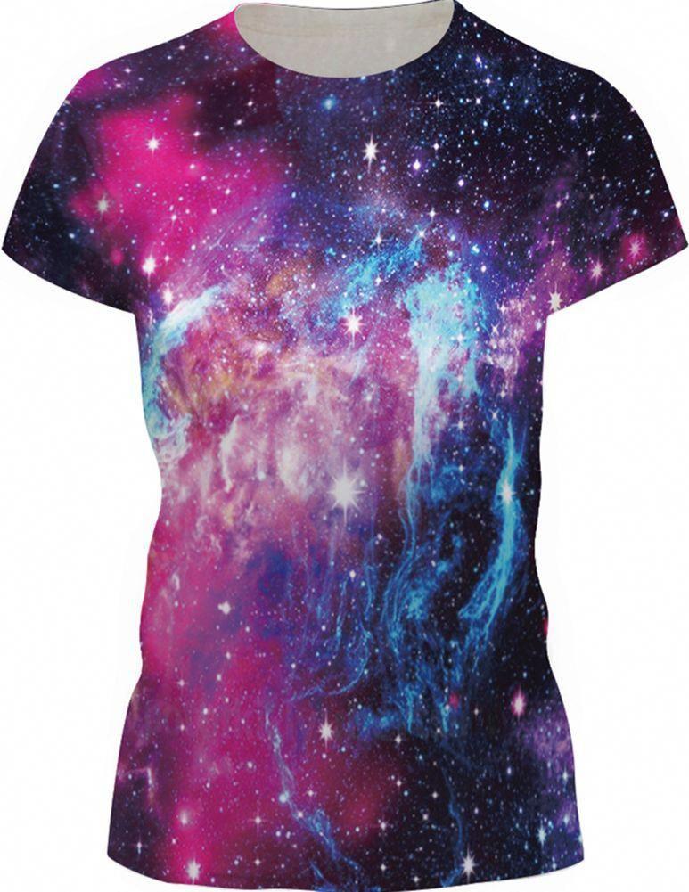 On Cue Apparel Galaxy Lines Shorts