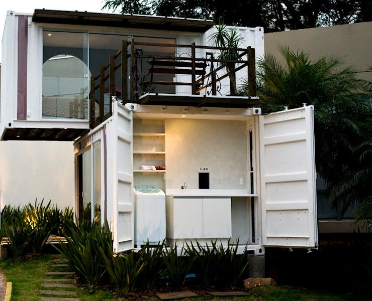 Different styles of container homes for the philippines