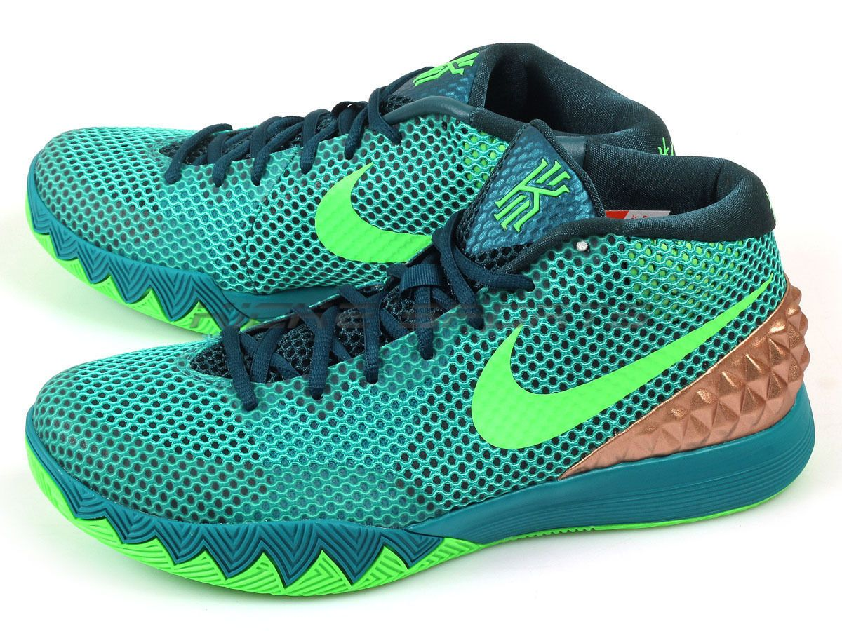 Nike Kyrie 1 EP Irving Australia Teal Green Strike Metallic Gold 705278-333
