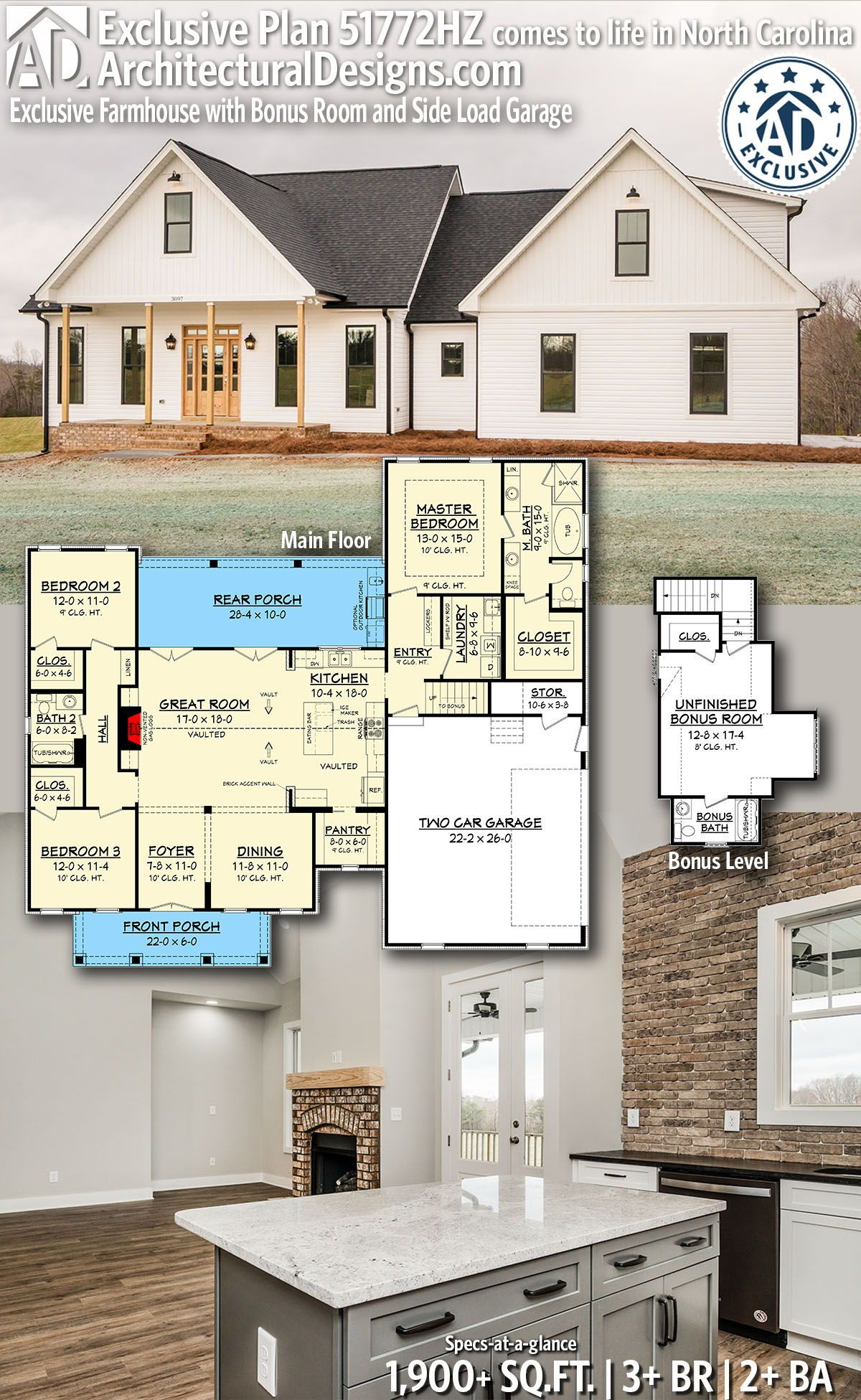 Pin On Architectural Designs Exclusive House Plans