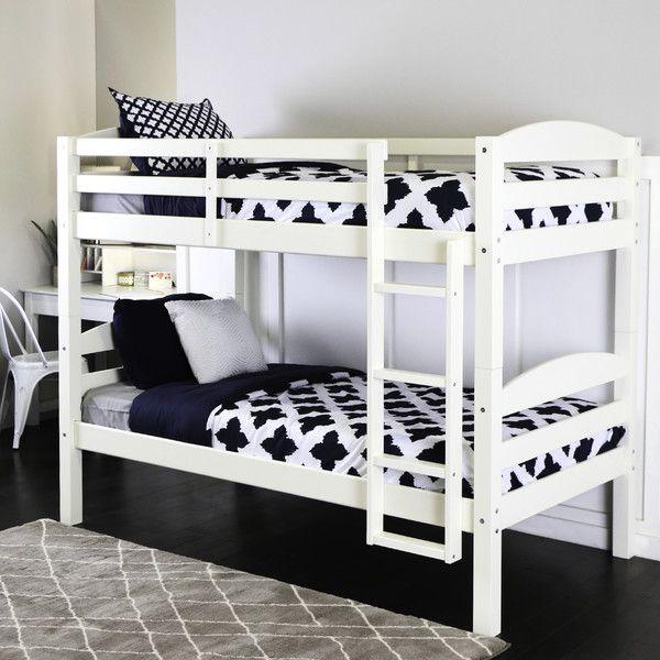 Home Loft Concepts Twin Bunk Bed & Reviews | Wayfair $254 250 lb ...