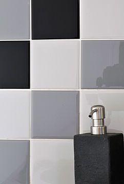rev tements muraux carreaux de fa ence adh sif carrelage autocollant renostick salle de bain. Black Bedroom Furniture Sets. Home Design Ideas