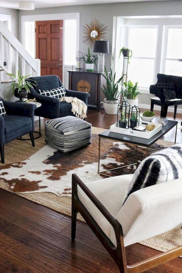 wonderful eclectic living room design nijihomedesign   Wonderful Rug Living Room Farmhouse Decor Ideas 16 living ...