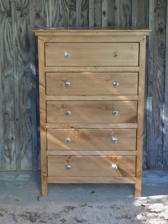 Chest Of Drawersdresserhandmade Chestbedroom Etsy In 2020 Wood Bedroom Furniture Storage Furniture Bedroom Wood Chest