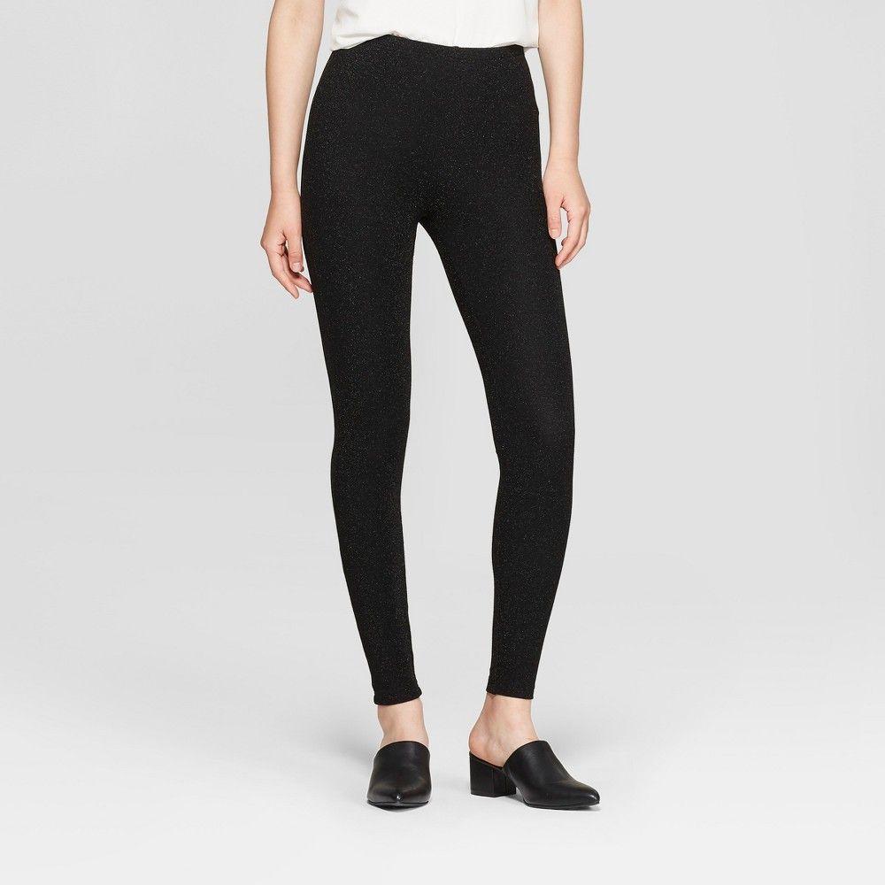 8552cc2235c4e3 Women's Sparkle Hosiery leggings - Xhilaration Black XL Gender: Female. Age  Group: Adult. Pattern: Solid. Material: Nylon.. Women's Sparkle Hosiery  leggings ...
