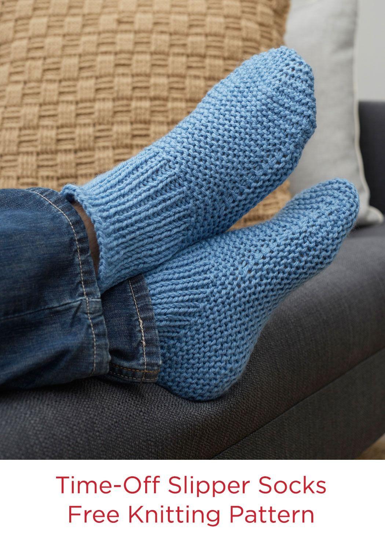 Time off slipper socks free crochet pattern in red heart with love time off slipper socks free crochet pattern in red heart with love yarn dt1010fo