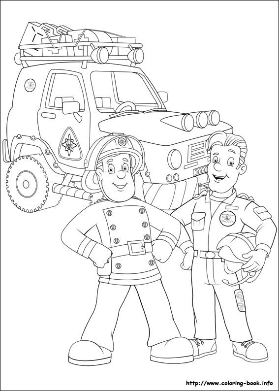 Fireman Sam Coloring Page Cartoon Coloring Pages Free Coloring Pages Fireman Sam