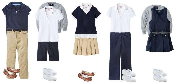 11 Back To School Uniform Ideas For Fashionable Kids Teens Under 18 Back To School Uniform Kids Fashion School Uniform