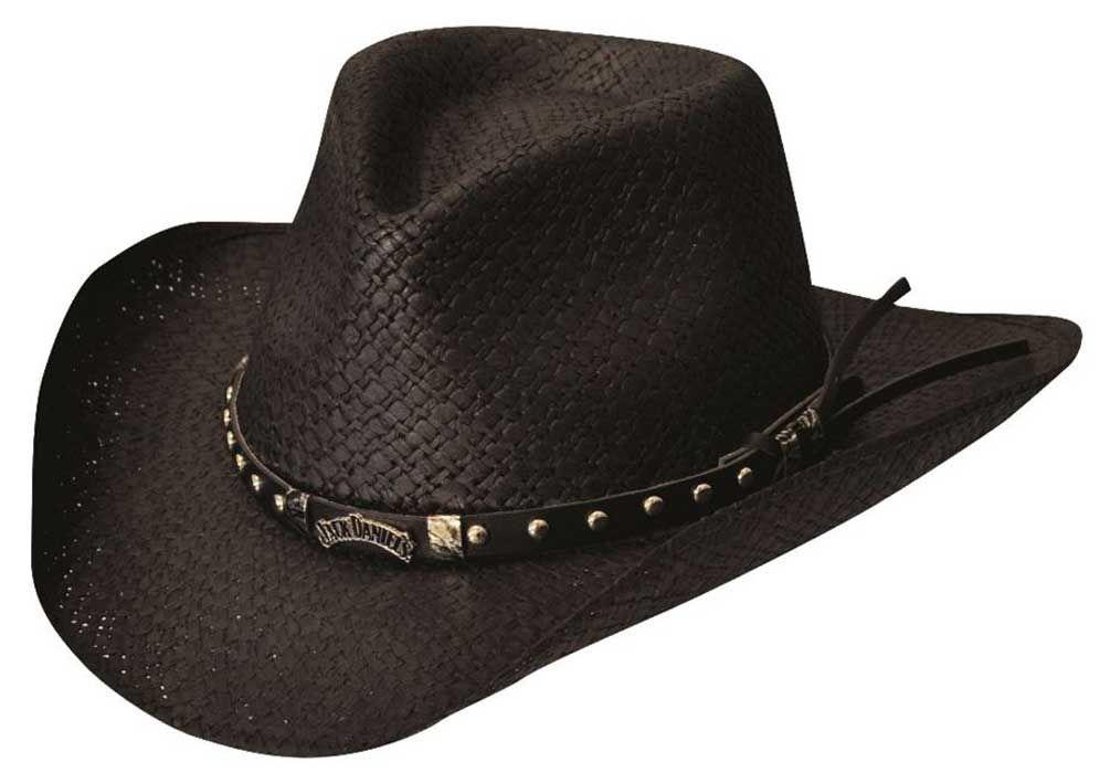 539d4c2ba Jack Daniels Men s Soft Toyo Straw Cowboy Hat