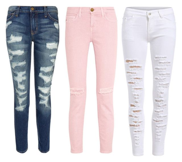 """""""Jeans=bae"""" by v-ball1107 on Polyvore featuring Current/Elliott"""