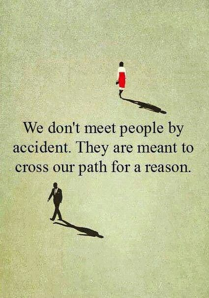 For a reason.