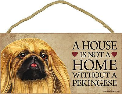"""House is Not a Home without a Bichon  Sign Plaque dog 10/"""" x 5/""""  Frise"""