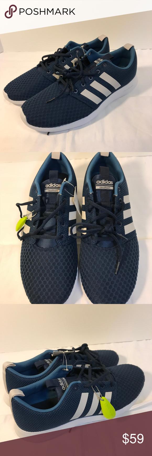Adidas Cloudfoam Swift Racer Sneaker size 12 | Sneakers, Nice ...