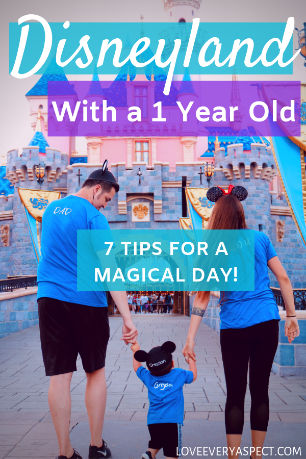 Disneyland With A 1 Year Old: Tips For A Magical Day