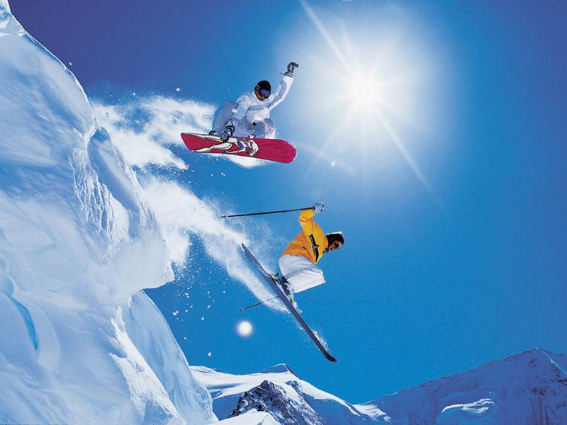 Learn to #Ski and #Snowboard  Best value place to learn - Pamporovo  see http://www.chaletsatpamporovovillage.com/