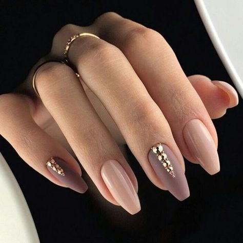 67 Short And Long Almond Shape Acrylic Nail Designs Awimina Blog Mauve Nails Gorgeous Nails Gel Nails
