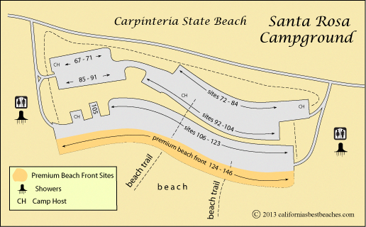 californiasbestbeaches...Carpinteria State Beach Camping ... on