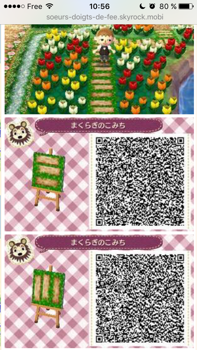 Pin By Stisa Poo On Acnl Qr Codes Animal Crossing Qr Qr Codes