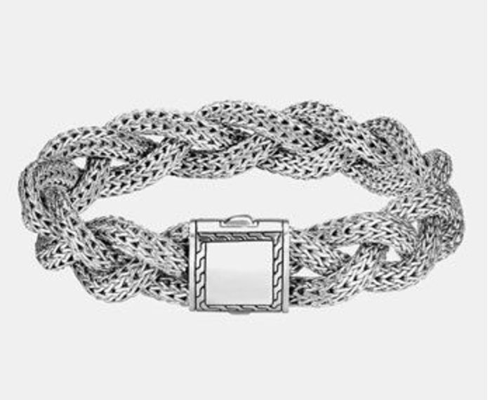 John Hardy Bracelet Classic Chain Braided Wide Rope New 895 00 Johnhardy Chain New Nwt Mens Sterling Silver Necklace John Hardy Jewelry Silver Ring Designs