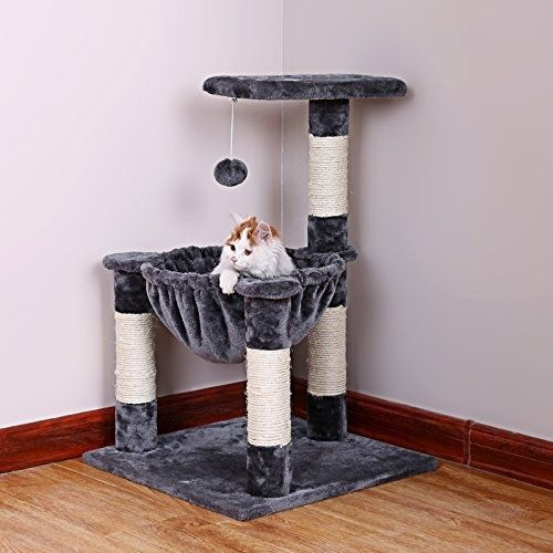 Exceptionnel Buy Cat Tree Furniture House Condo Tower Door Hanging Kitty Climbing Multi  Level Pet At Online Store
