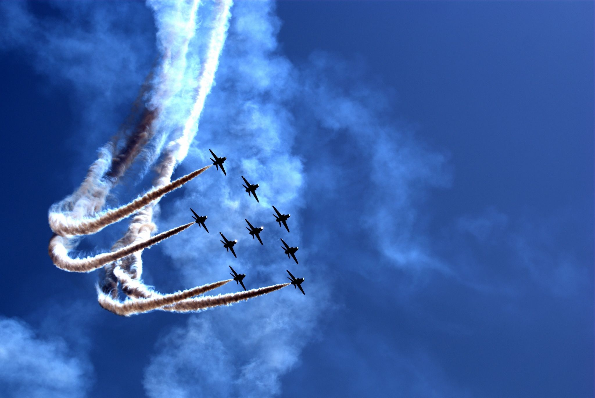 Aerobatic Team during Airshow