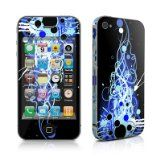 Mardi Gras Nights Design Protective Decal Skin Sticker (Matte Satin Coating) for Apple iPhone 4 / 4S 16GB 32GB 64GB , for iPhone