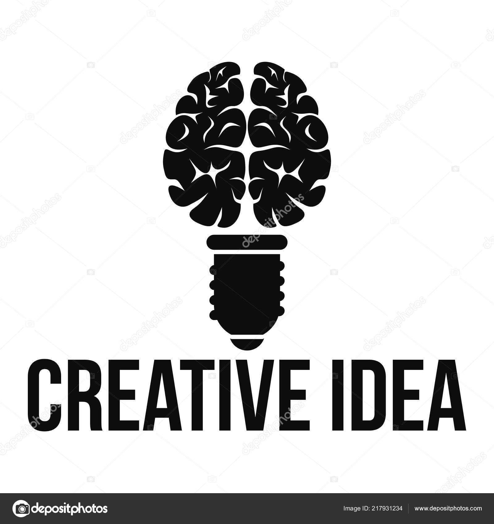Descargar Logotipo de mental idea creativa, estilo