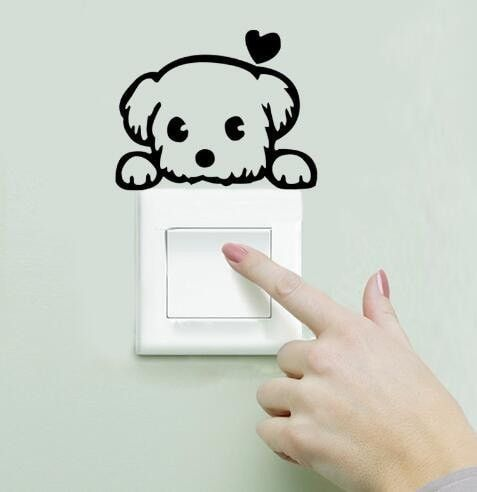 Cat Switch Wall Decals
