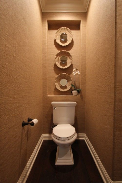 Interesting powder room