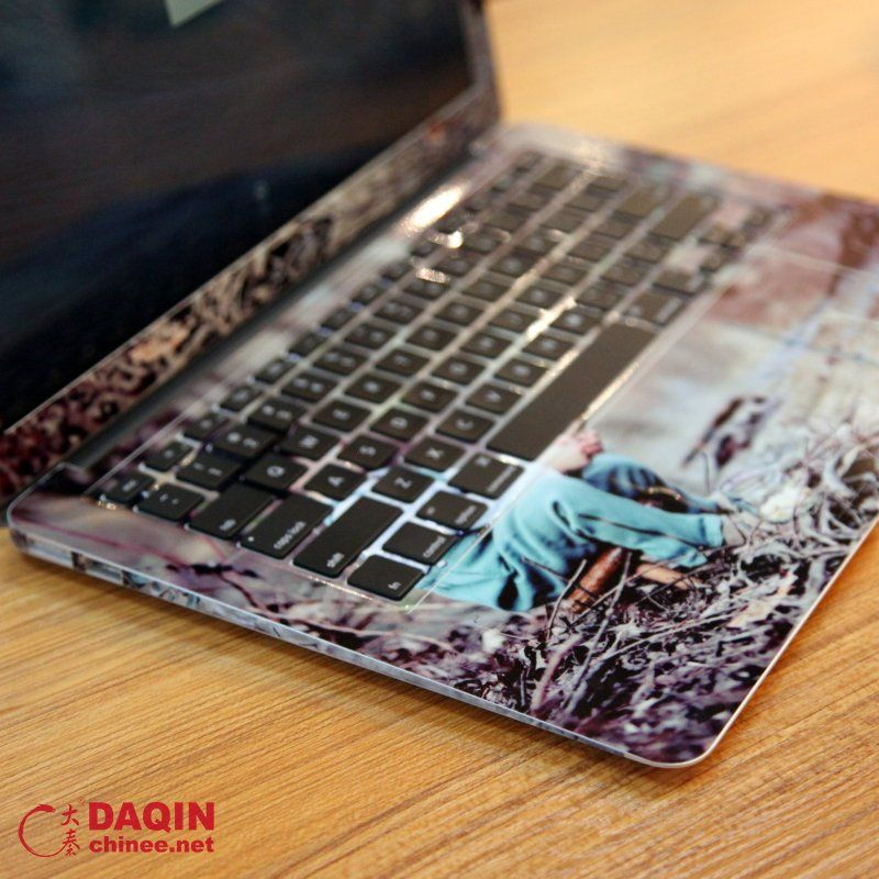 Those beautiful stickers are made by the daqin custom laptop skin design system do you want to know more about the machines to make them pinterest