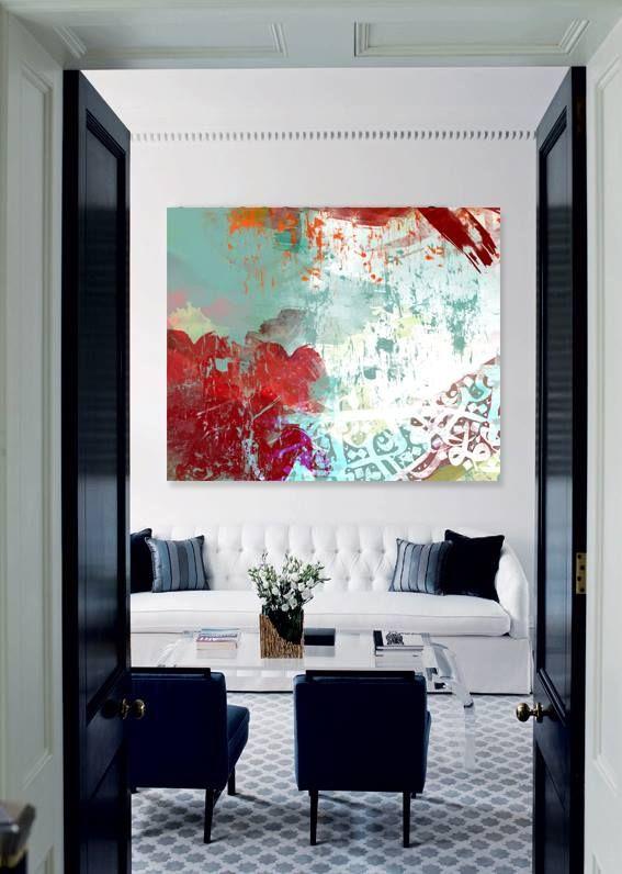 ... Sarahreis Kunst Pinterest Kunstwerke, Rot  Grün Und   Wohnzimmer Grun  Rot ...