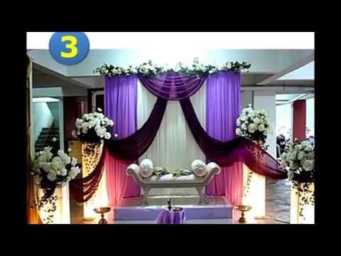 dekorasi pernikahan gedung model minimalis | dekorasi