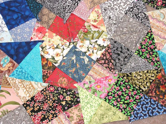 Triangles the fun project 1 by Jaime Lee, via Flickr