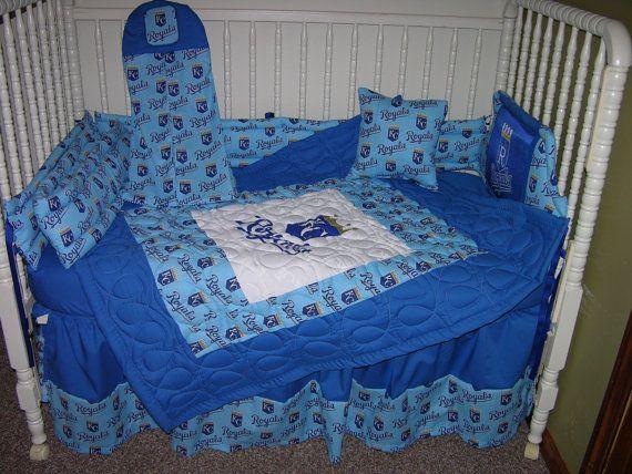 Deposit For New Custom Made Crib Nursery Bedding M W Kansas City Royals