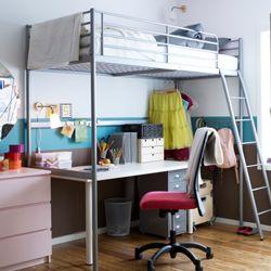 ikea chambre ado - Recherche Google | design | Pinterest | Mezzanine ...