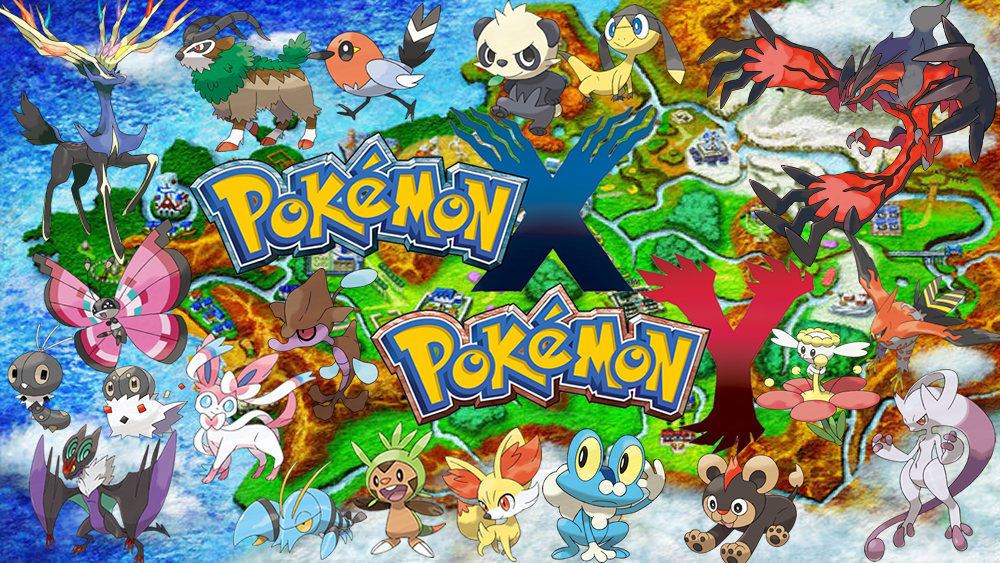 Pokemon X And Y Map on