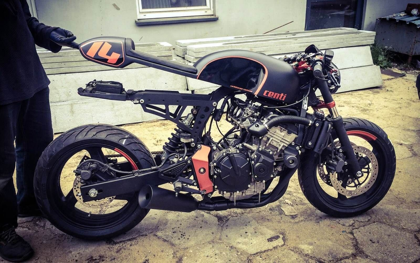 Populaire Honda CB600 Café Racer by CardsharperCustoms | Honda, Cafes and  HD08