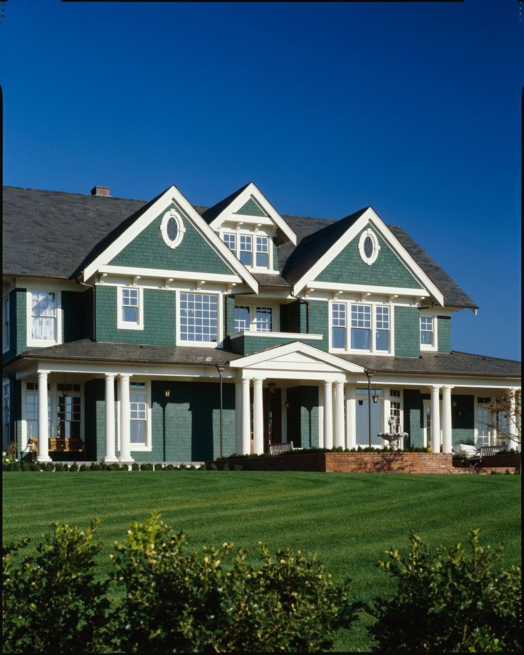 House Plans, House, Colonial