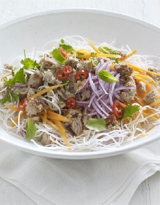 Low FODMAP Recipe and Gluten Free Recipe - Rice noodle ...
